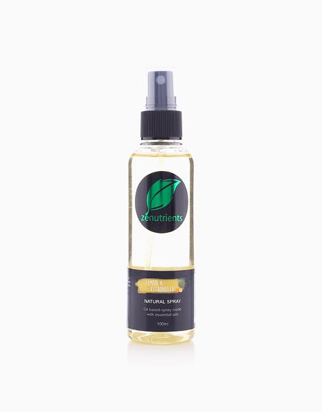 Lemon & Citronella Bug Repellent Spray by Zenutrients