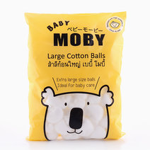 Large Cotton Balls (100g) by Baby Moby