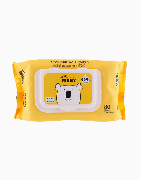 Water Wipes 80s by Baby Moby