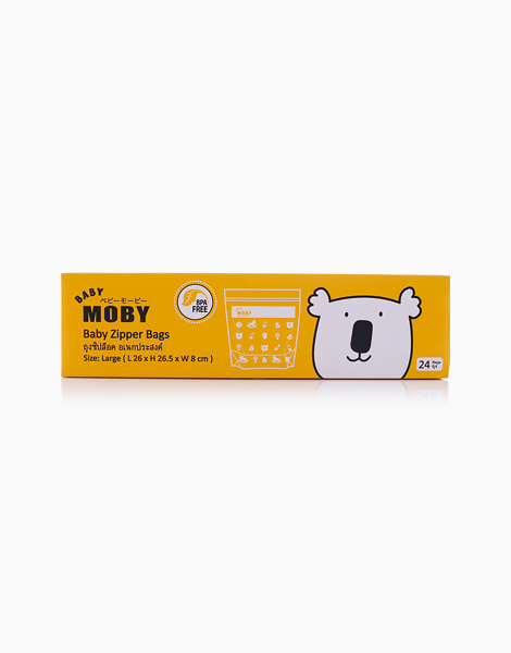 Large Zipper Bags by Baby Moby