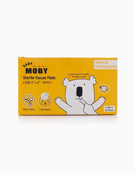 Sterile Gauze Pads by Baby Moby