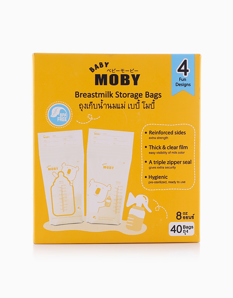 Breastmilk Storage Bags by Baby Moby