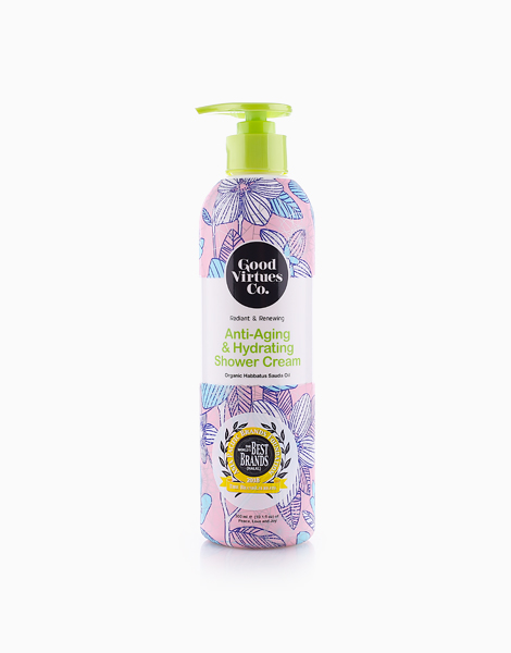 Radiant & Renewing Anti-Aging & Hydrating Shower Cream (300ml) by Good Virtues Co