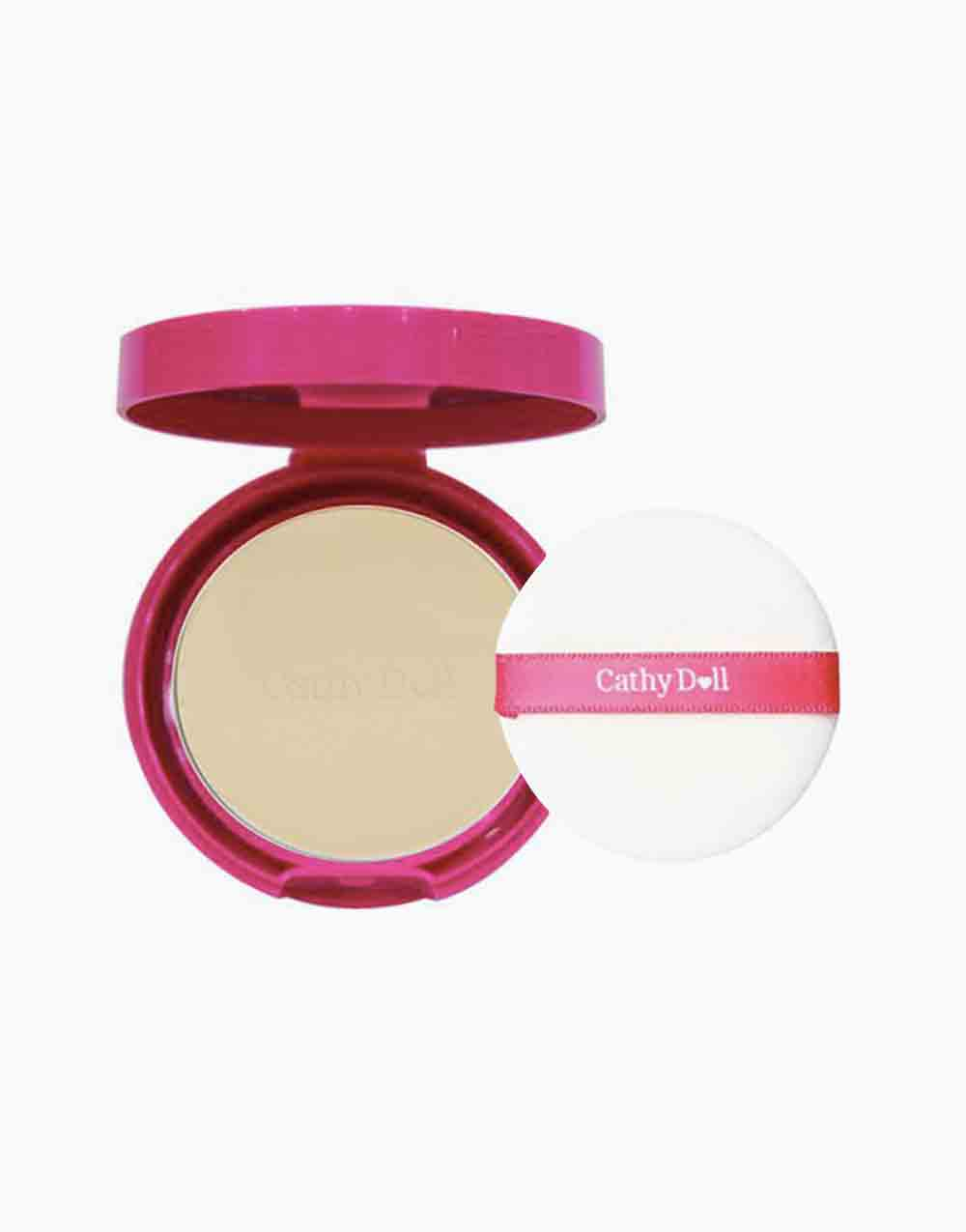 Speed White CC Powder Pact SPF 40 PA+++ Mini (4.5g) by Cathy Doll | #23 Natural Beige