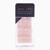 Press On Gel Nails French Tips (24 Tips) by Nail Pops