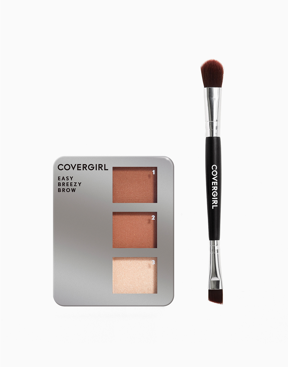 Easy Breezy Brow Powder Kit by CoverGirl | Soft Brown
