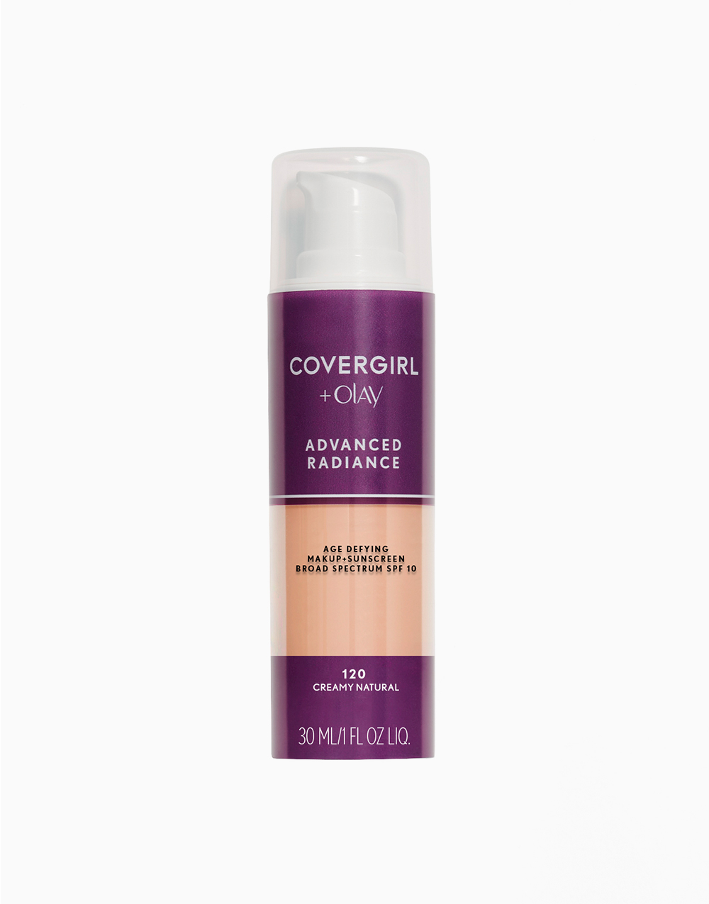 Advanced Radiance Age-Defying Liquid Makeup by CoverGirl | Creamy Natural
