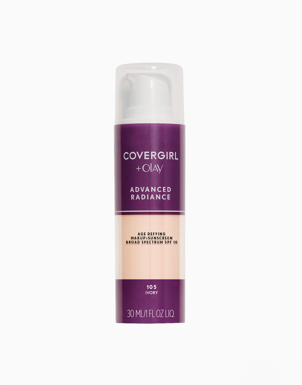 Advanced Radiance Age-Defying Liquid Makeup by CoverGirl | Ivory