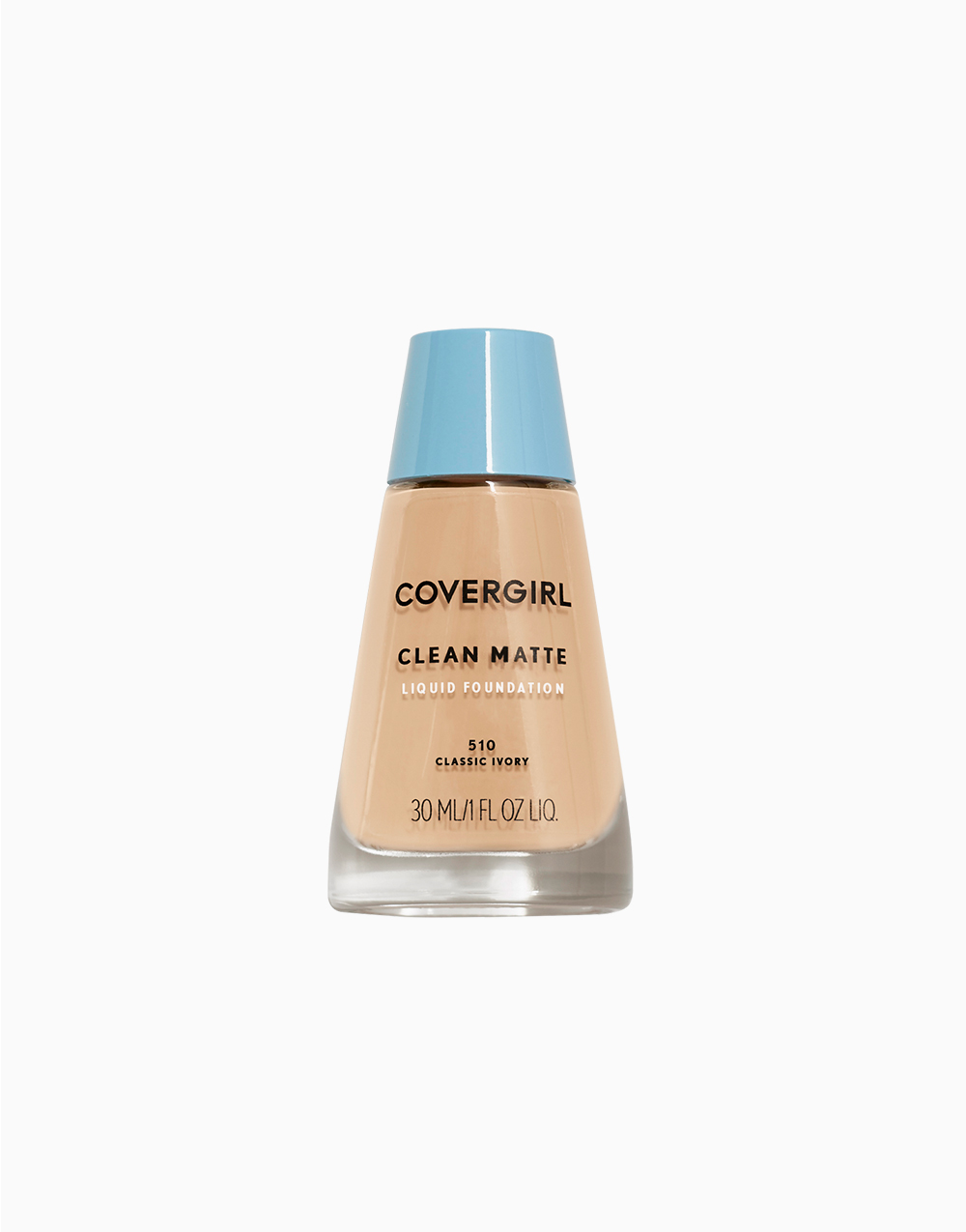 Clean Matte Liquid Foundation by CoverGirl | Classic Ivory
