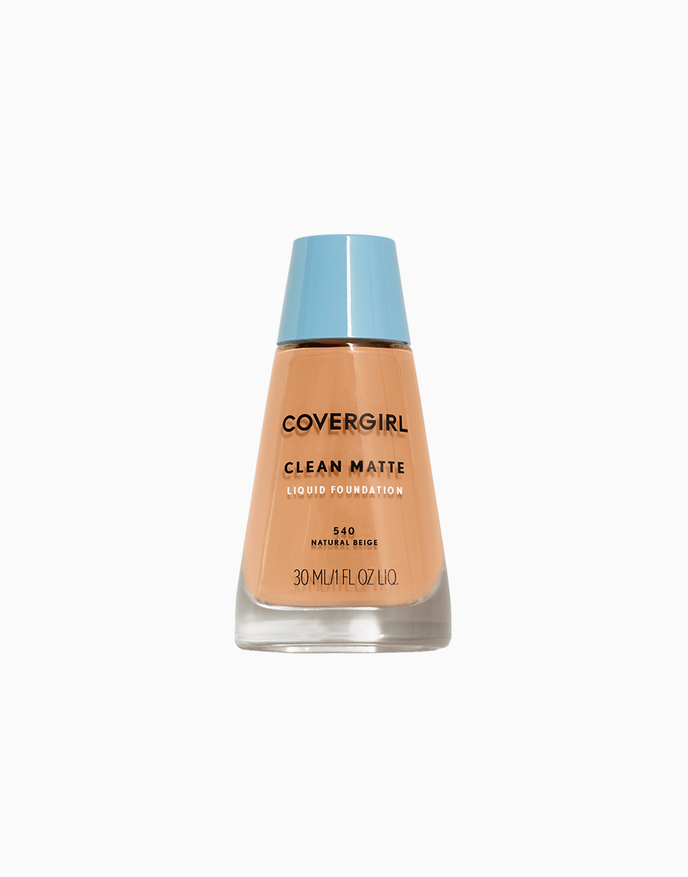 Clean Matte Liquid Foundation by CoverGirl | Natural Beige