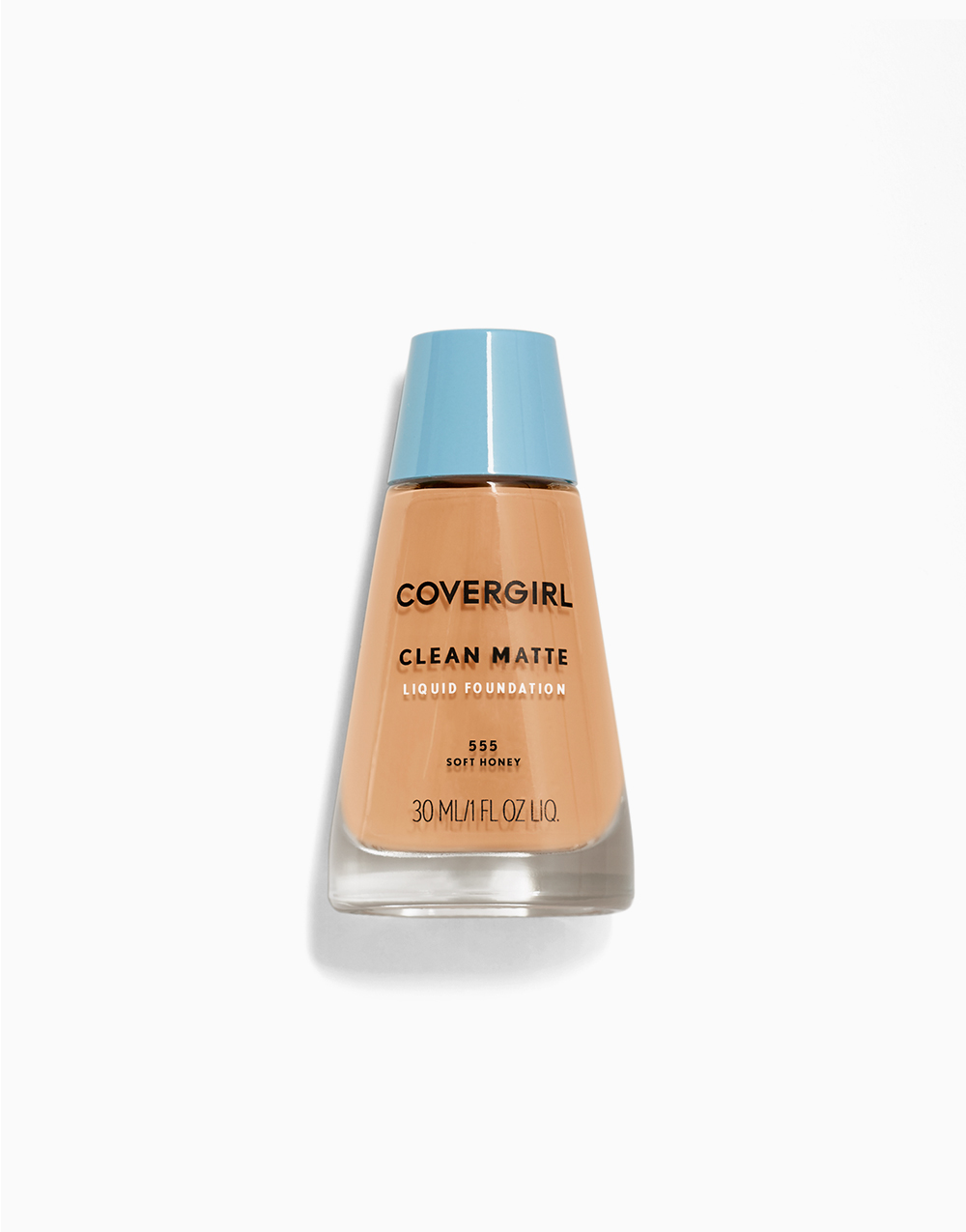 Clean Matte Liquid Foundation by CoverGirl | Soft Honey