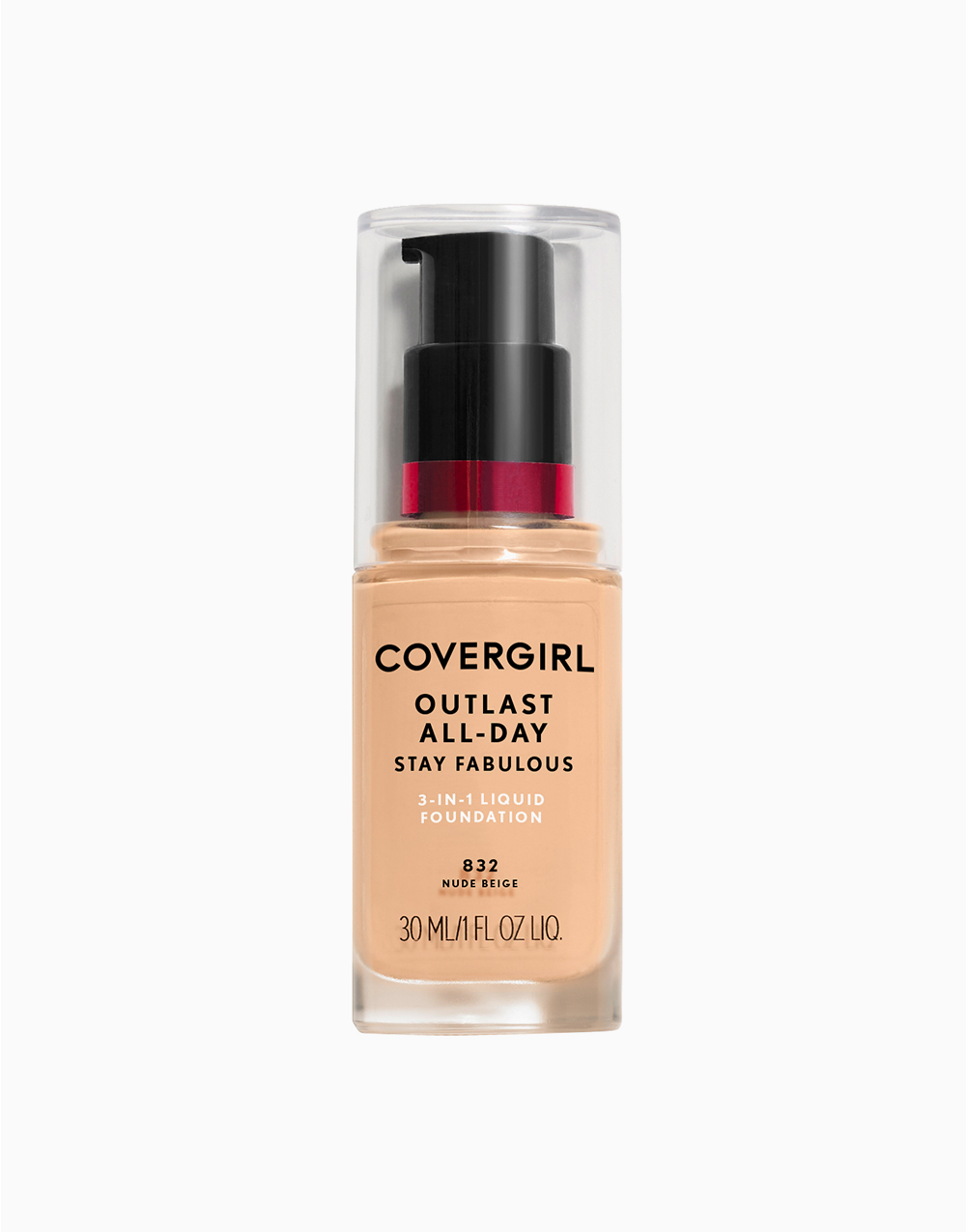 Outlast Stay Fabulous 3-in-1 Foundation by CoverGirl   Nude Beige