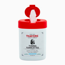 Thayers toning witch hazel unscented towelettes