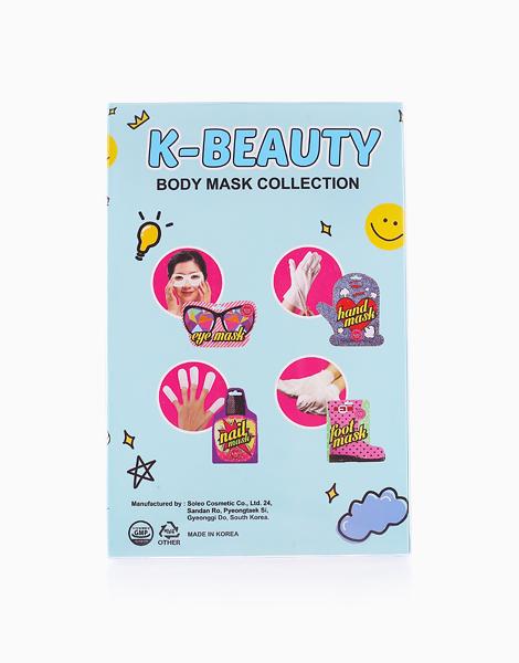 K-Beauty Body Glow Mask Set by BlingPop