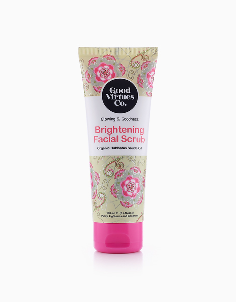 Glowing & Goodness Brightening Facial Scrub (100ml) by Good Virtues Co