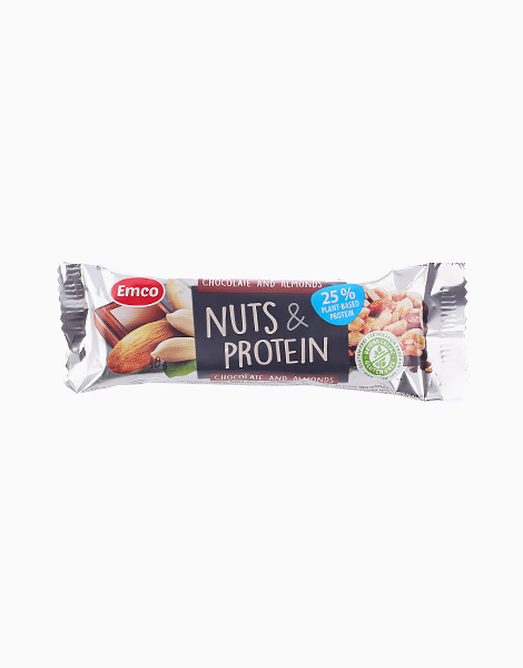 Chocolate & Almond Nuts and Protein Bar (40g) by Musli