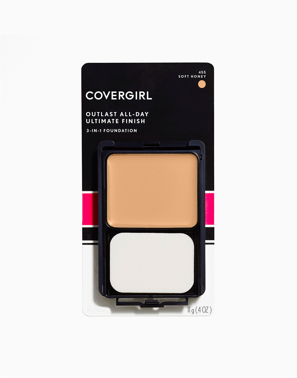 Outlast All-Day Ultimate Finish 3-in-1 Foundation Makeup by CoverGirl | Soft Honey