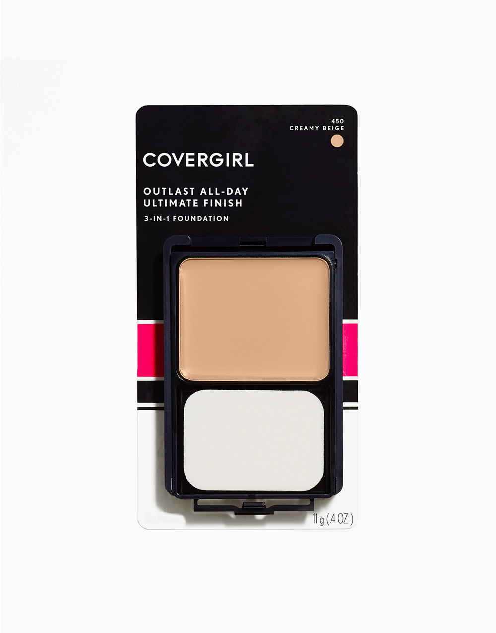Outlast All-Day Ultimate Finish 3-in-1 Foundation Makeup by CoverGirl | Creamy Beige