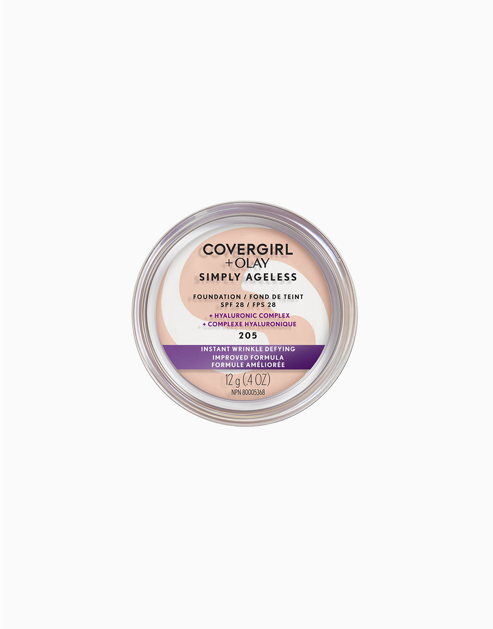Simply Ageless Wrinkle Defy Foundation by CoverGirl |