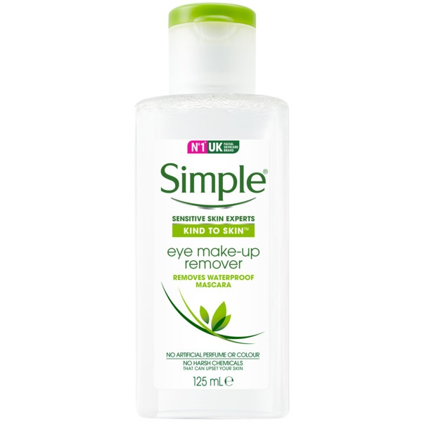Simple Eye Make Up Remover 125ml by Simple