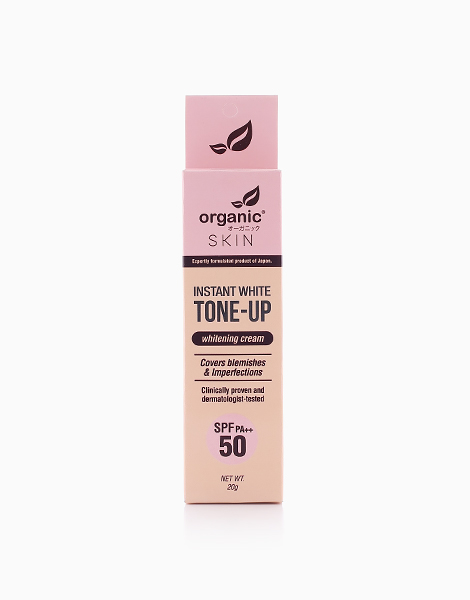 Instant White Tone Up Whitening Cream With SPF 50 PA++ by Organic Skin Japan | White
