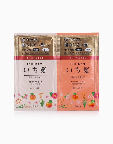 Ichikami Moisturizing Care Trial Sachet (Shampoo & Conditioner) by Kracie