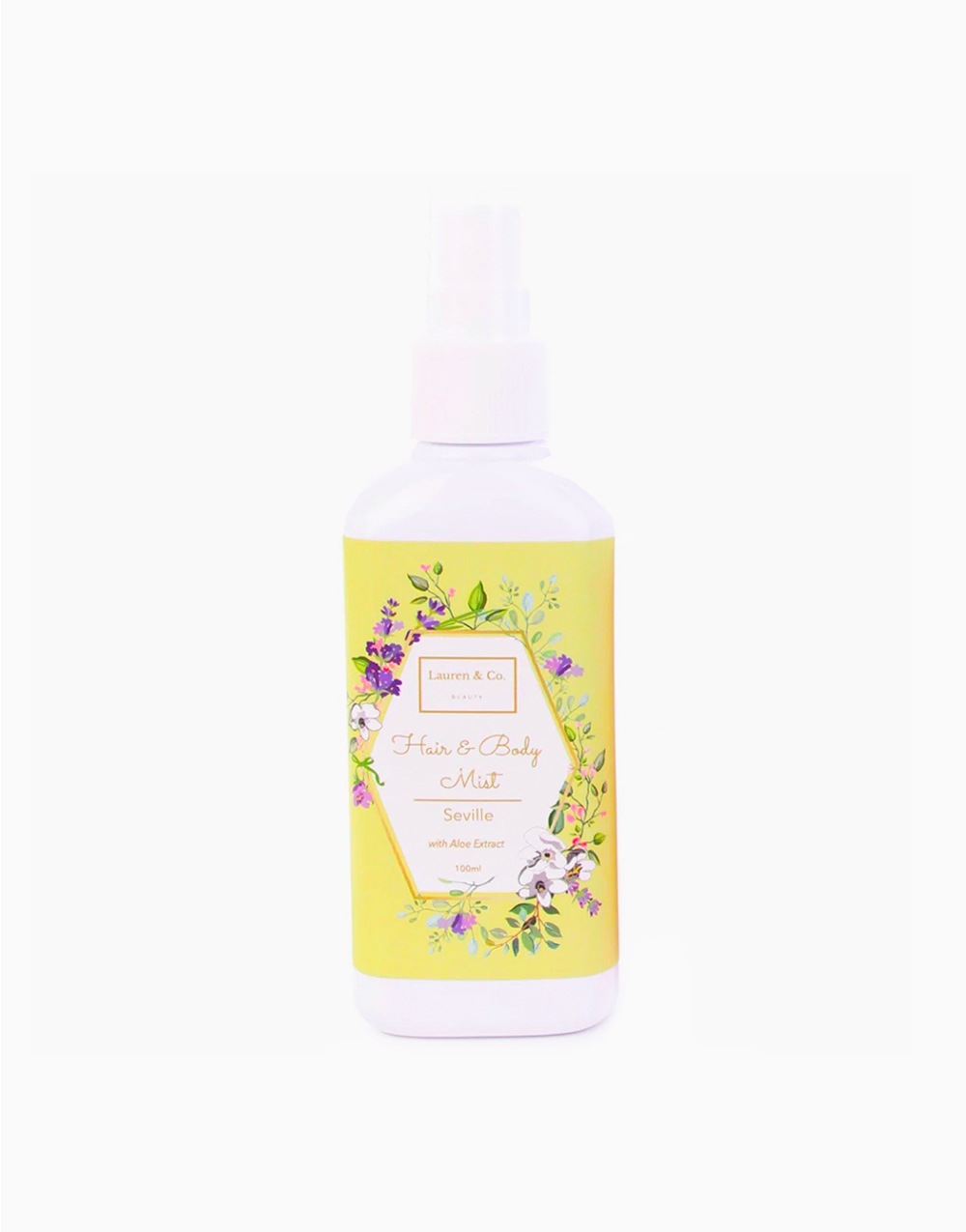 Hair & Body Mist with Aloe Extracts in Seville by Lauren & Co Beauty