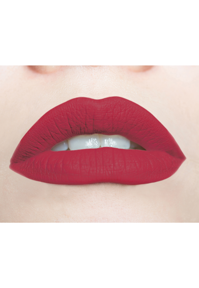 Soft & Creamy Matte Liquid Lipstick by Butterfly Kisses | Mild Fuschia