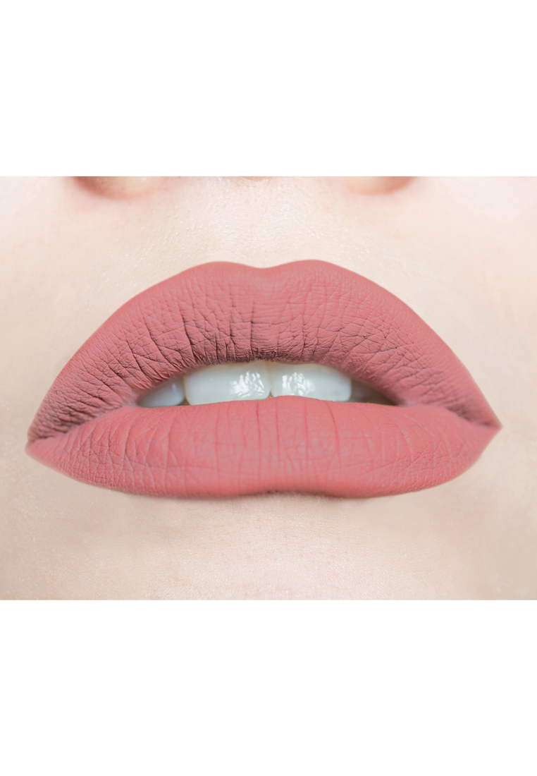 Soft & Creamy Matte Liquid Lipstick by Butterfly Kisses Cosmetics | Peach Blush