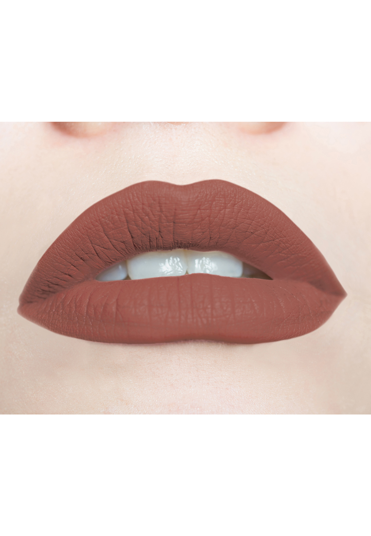 Soft & Creamy Matte Liquid Lipstick by Butterfly Kisses Cosmetics | Hot Cocoa