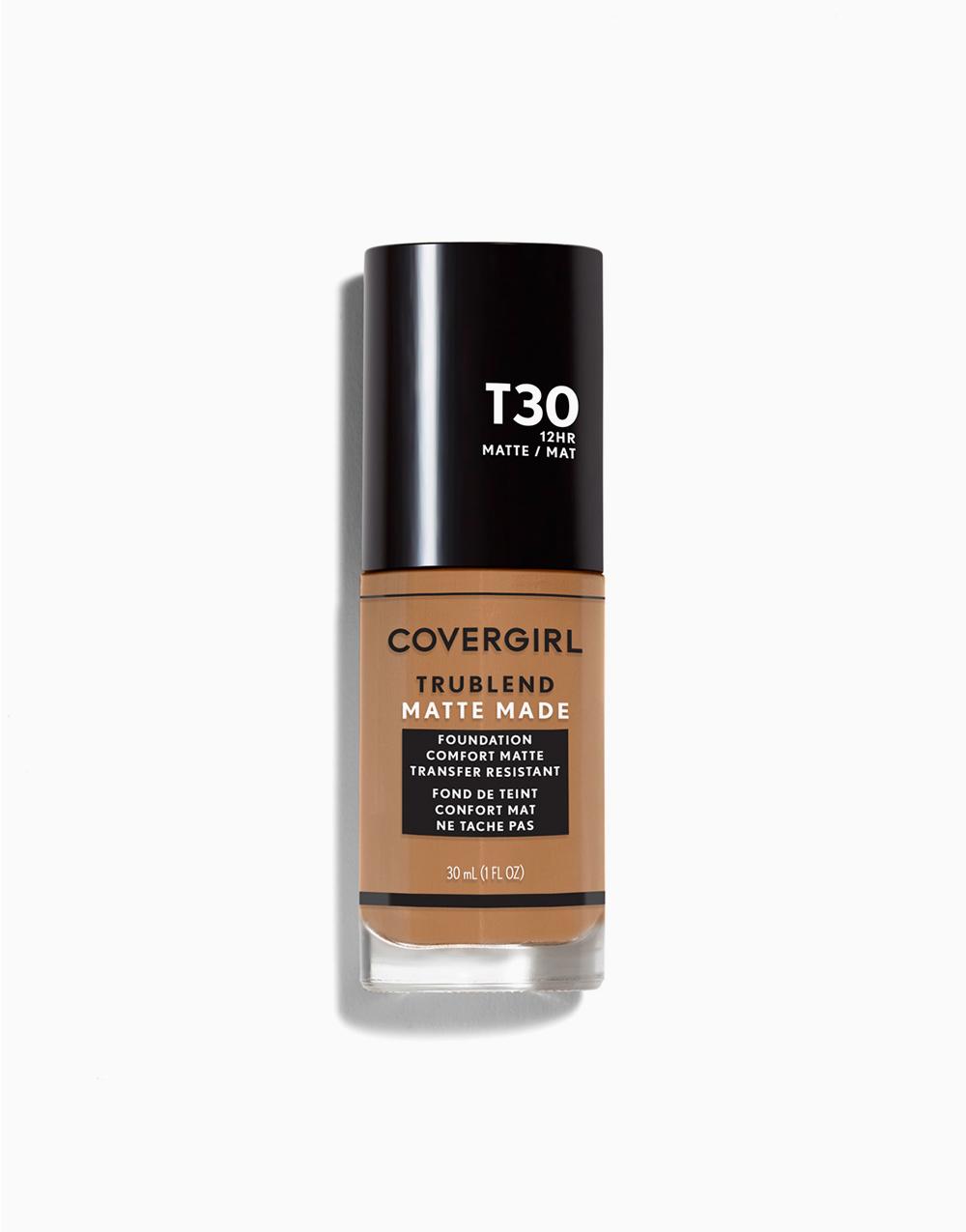 TruBlend Matte Made Liquid Foundation by CoverGirl   Warm Honey