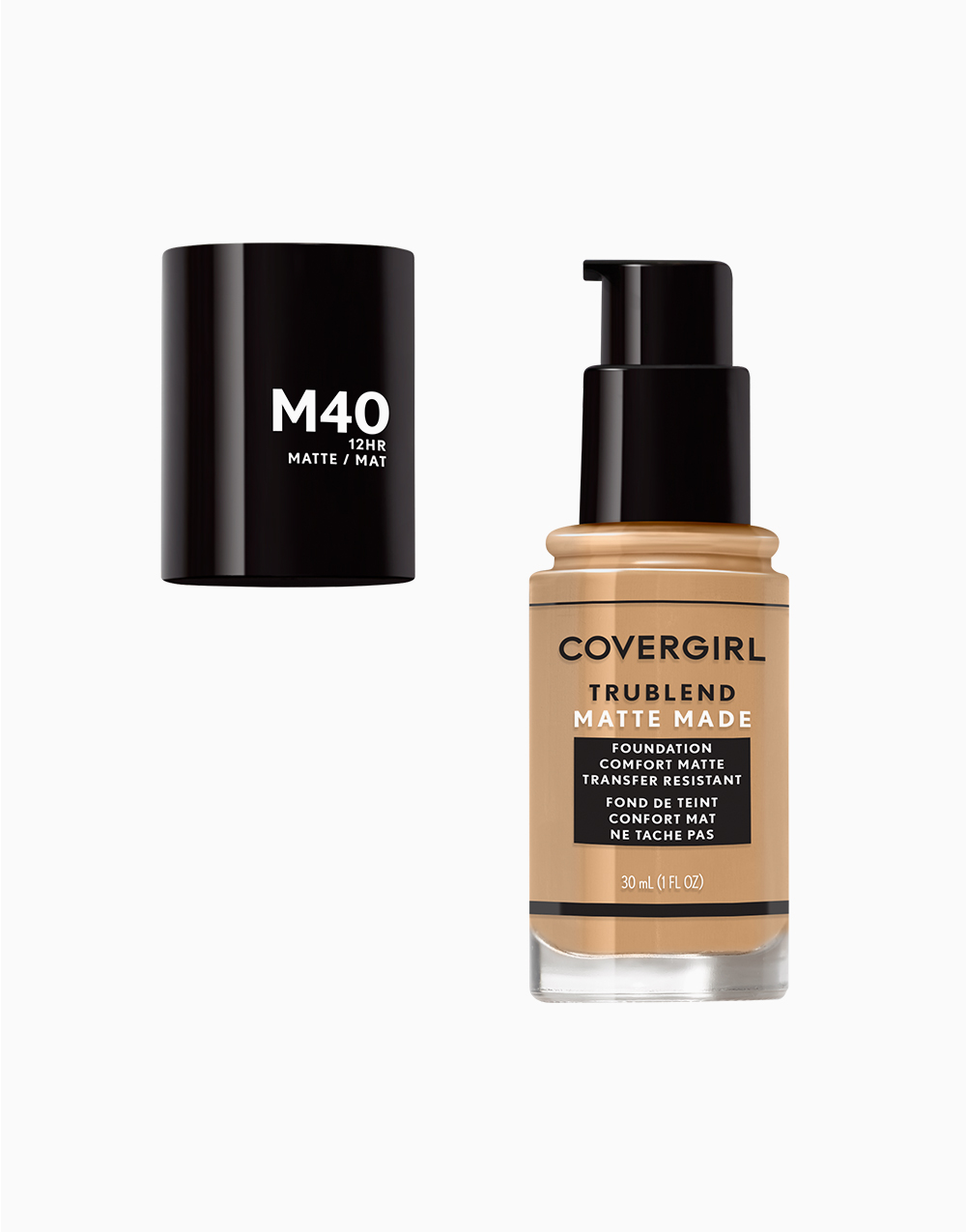 TruBlend Matte Made Liquid Foundation by CoverGirl   Warm Nude