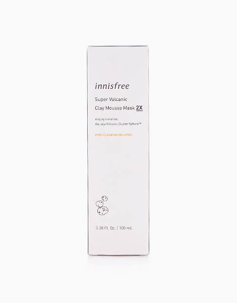 Super Volcanic Clay Mousse Mask 2X by Innisfree