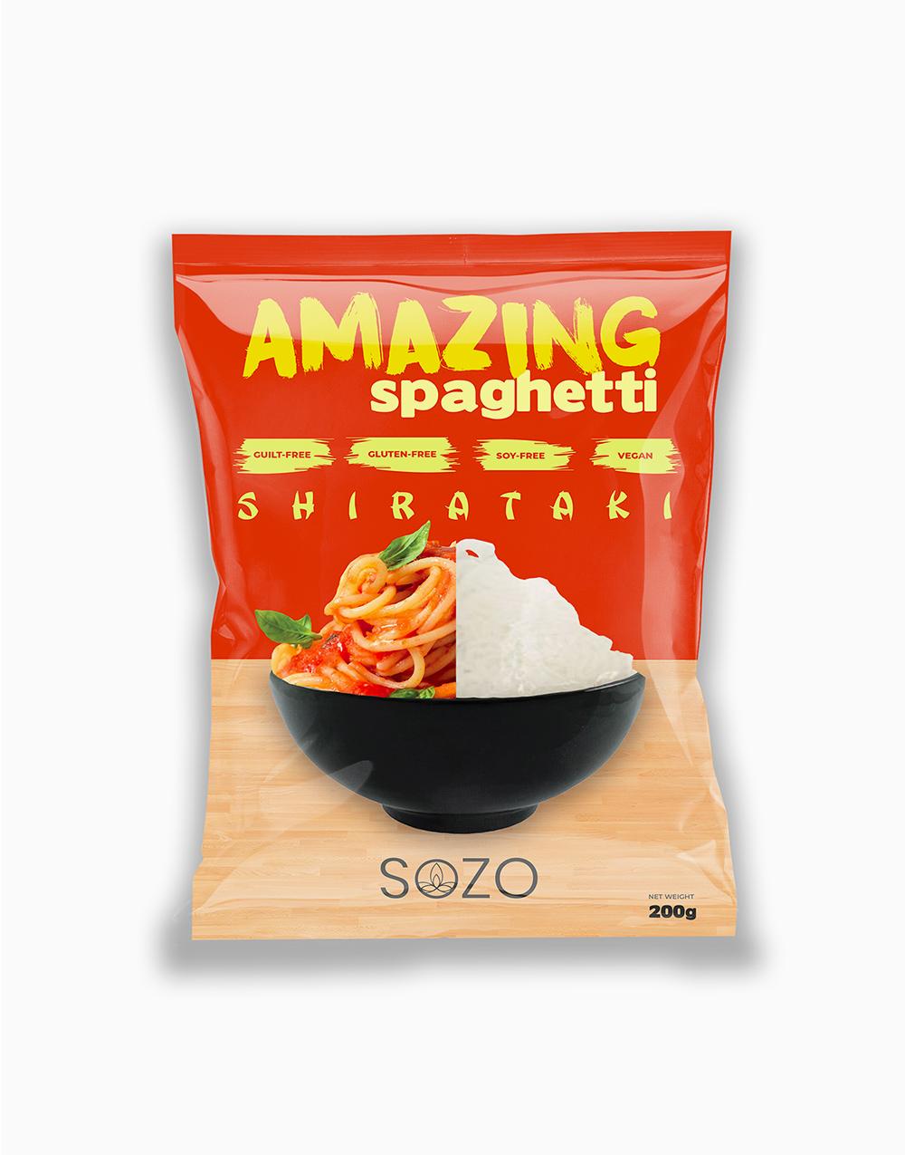 Shirataki Spaghetti (200g) by SOZO Natural