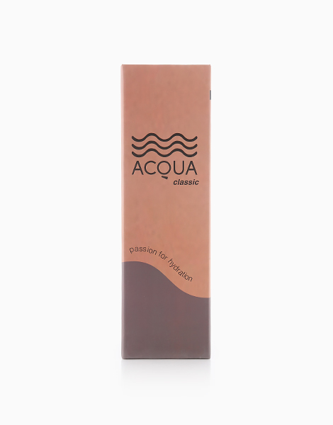 Acqua Classic Insulated Water Bottle in Solid/Charcoal Black (500ml) by Acqua Bottles