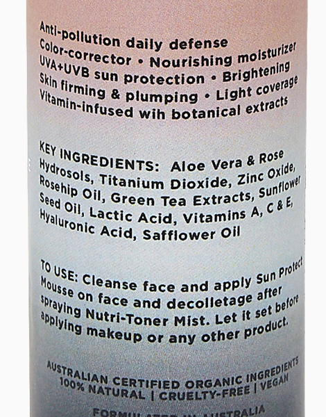 Anti-Pollution Sun Protect Mousse SPF50 (Advanced Formula) by Lumiere Organiceuticals