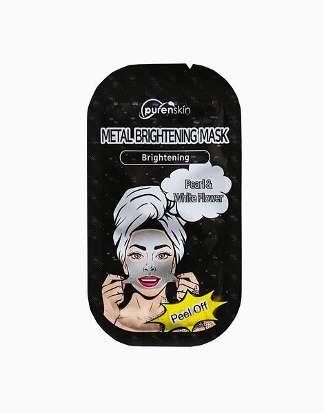 Metal Brightening Peel-Off Pearl Mask by Purenskin Korea