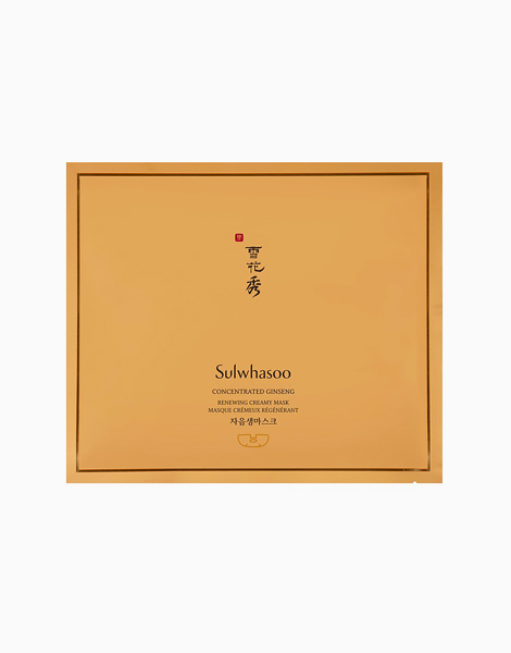 Concentrated Ginseng Renewing Creamy Mask by Sulwhasoo