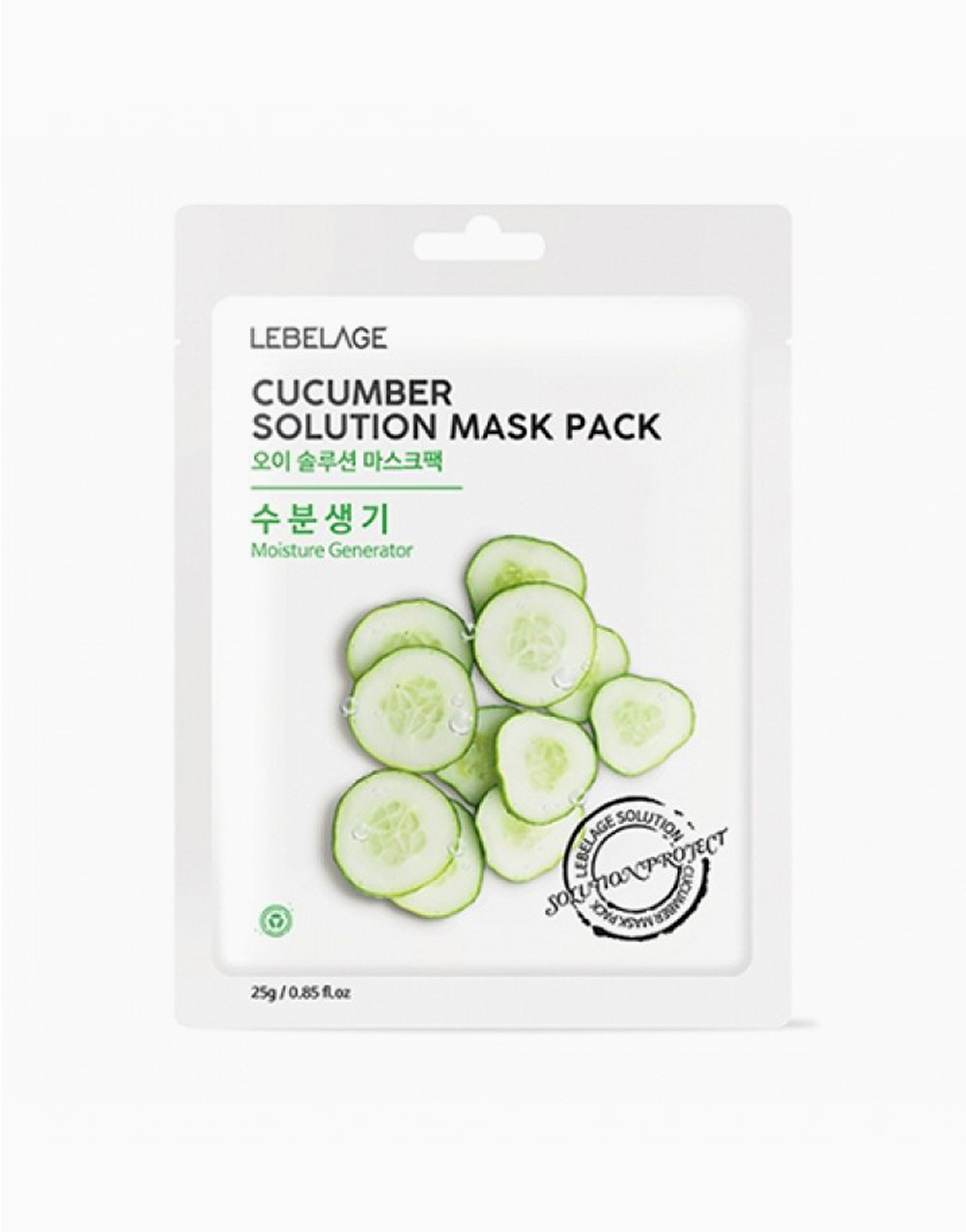 Cucumber Solution Mask Pack (1 Sheet) by Lebelage