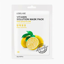 Vitamins Mask Sheet by Lebelage