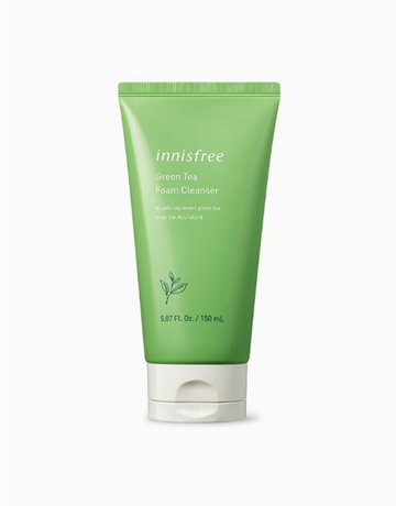 Green Tea Foam Cleanser (150ml) by Innisfree