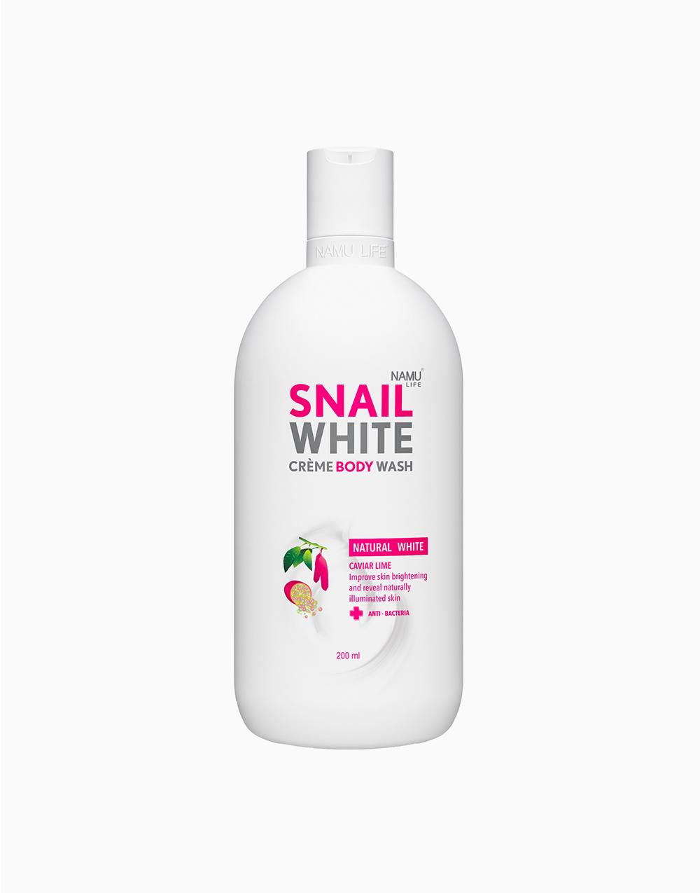 Natural White Body Wash (200ml) by SNAILWHITE