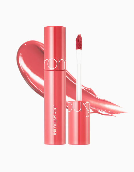 Juicy Lip Tint (New Packaging) by Rom&nd | LITCHI CORAL