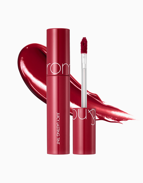 Juicy Lip Tint (New Packaging) by Rom&nd | Cherry Bomb