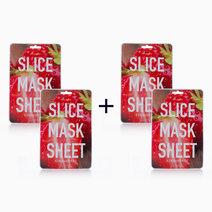 B2t2 kocostar strawberry slice face mask sheet