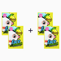 B2t2 blingpop lemon vitamin   brightening face mask