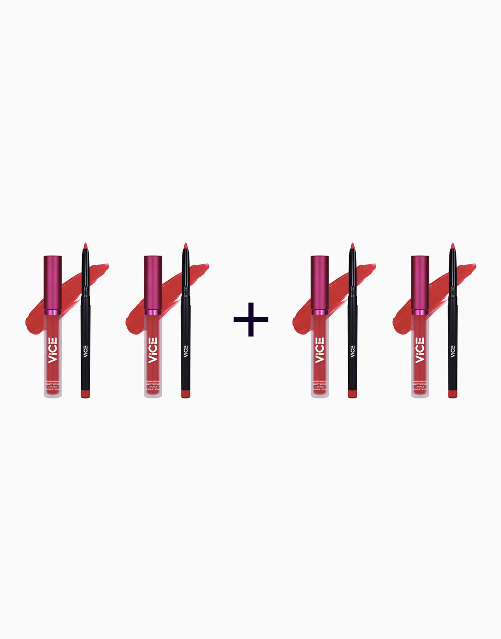 Phenomenal Velvet Lip Kit (3ml + 0.25g) (Buy 2, Take 2) by Vice Cosmetics   Givlavu
