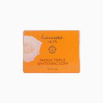 Papaya Triple Whitening Soap by Kamiseta Skin