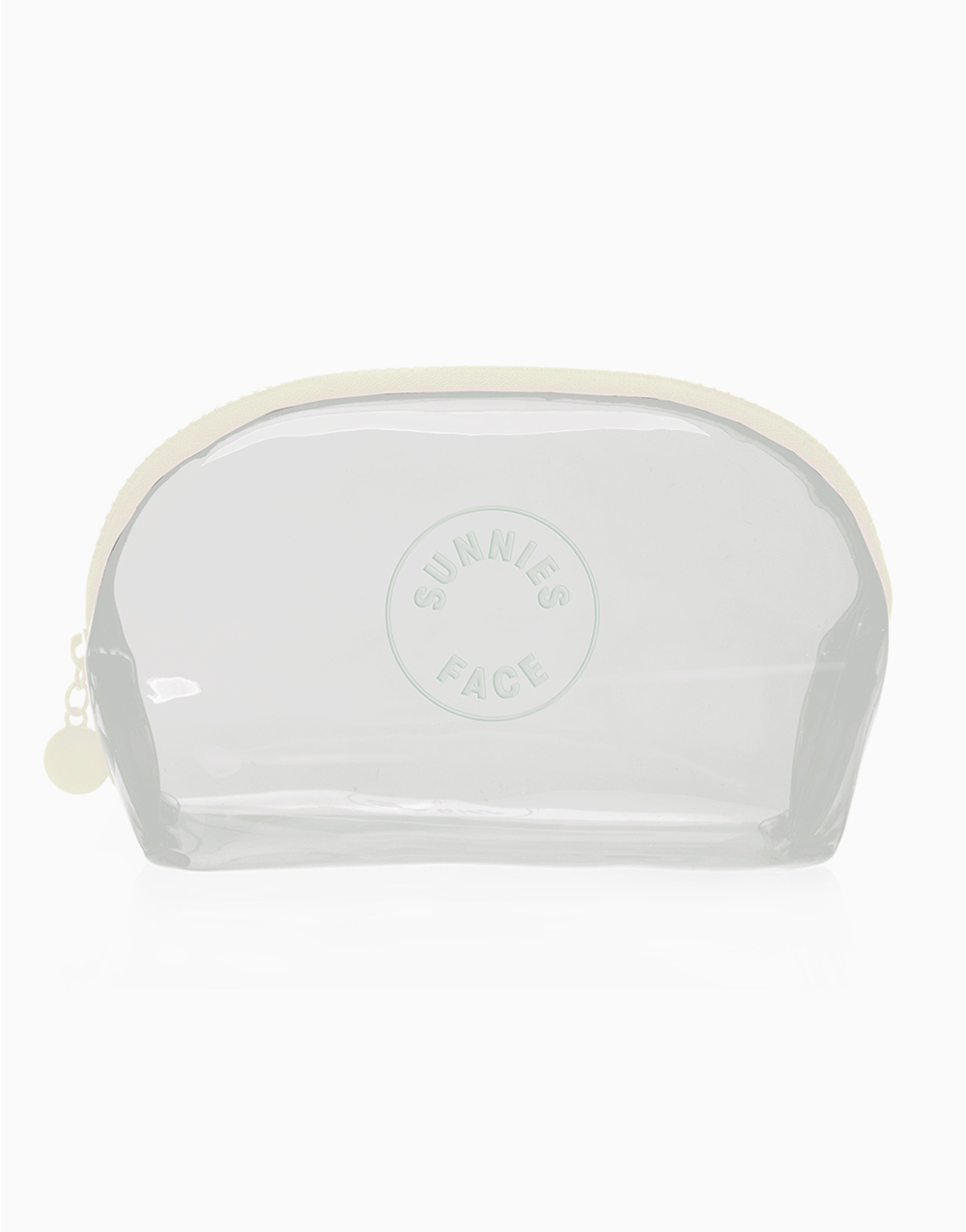 Sunnies Face Jelly Pouch [Makeup Pouch] (Coconut) by Sunnies Face