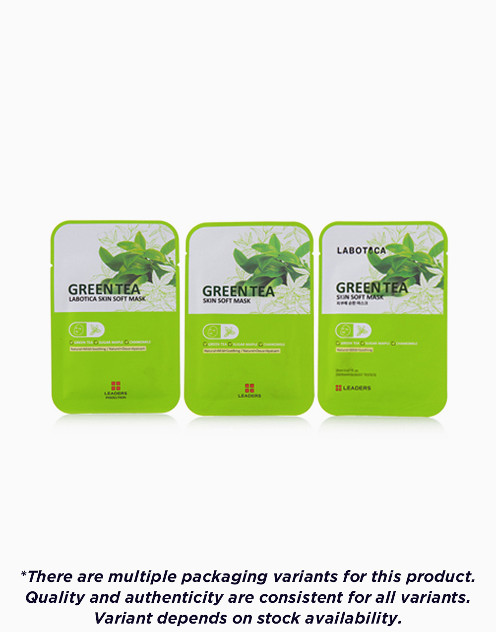 Labotica Skin Soft Mask Green Tea by Leaders InSolution